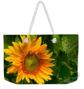 Sunflower Single Weekender Tote Bag