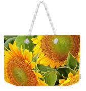 Sunflower Smiles Weekender Tote Bag