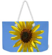 Sunflower Square Weekender Tote Bag