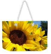 Sunflower Summer Garden Art Prints Weekender Tote Bag