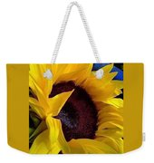 Sunflower Sunny Yellow In New Orleans Louisiana Weekender Tote Bag