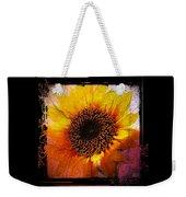 Sunflower Sunset - Art Nouveau  Weekender Tote Bag