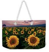 Sunflower Sunset II Weekender Tote Bag