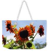 Sunflower Symphony Weekender Tote Bag