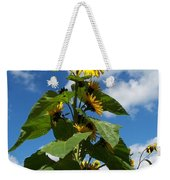 Sunflower Tall Beauty Weekender Tote Bag