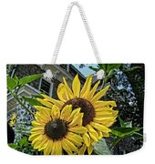 Sunflower Under The Gables Weekender Tote Bag