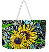 Sunflower Under The Gables Too Weekender Tote Bag