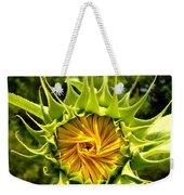 Sunflower Whirl Weekender Tote Bag