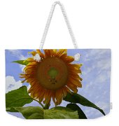 Sunflower With Busy Bees Weekender Tote Bag