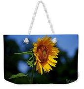 Sunflower With Honeybee Weekender Tote Bag