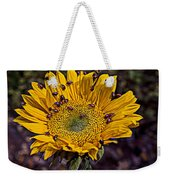 Sunflower With Ladybugs Weekender Tote Bag