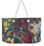 Sunflower Woman #1 Weekender Tote Bag