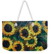 Sunflowers 2 Weekender Tote Bag