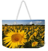 Sunflowers At Dawn Weekender Tote Bag