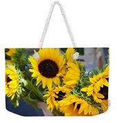 Sunflowers At Market Weekender Tote Bag