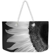 Sunflowers Beauty Black And White Weekender Tote Bag