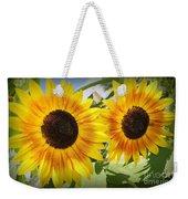 Sunflowers In Full Bloom Weekender Tote Bag