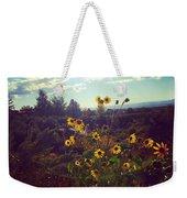 Sunflowers In Sun Light Weekender Tote Bag