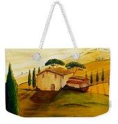 Sunflowers In Tuscany Weekender Tote Bag