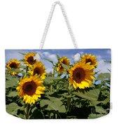 Sunflowers Weekender Tote Bag by Kerri Mortenson