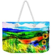 Sunflowers Near Greve Weekender Tote Bag