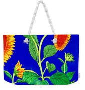 Sunflowers Weekender Tote Bag by Irina Sztukowski