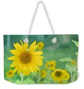 Sunflowers Vintage Dreams Weekender Tote Bag