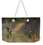 Sunglow Heron Weekender Tote Bag