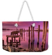 Sunk In Twilight Weekender Tote Bag