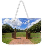 Sunken Garden At William And Mary Weekender Tote Bag