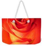 Sunkissed Orange Rose 10 Weekender Tote Bag