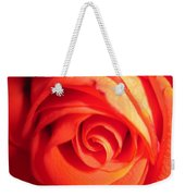 Sunkissed Orange Rose 11 Weekender Tote Bag