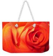 Sunkissed Orange Rose 6 Weekender Tote Bag
