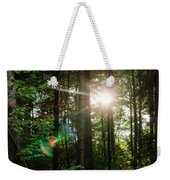 Sunlight Forest Weekender Tote Bag