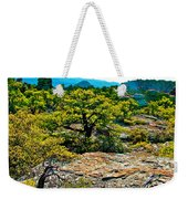 Sunlight On Balanced Rock Trail In Chiricahua National Monument-arizona Weekender Tote Bag