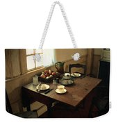 Sunlight On Dining Table Weekender Tote Bag