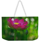 Sunlight On Lotus Flower Weekender Tote Bag