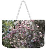 Sunlight On Saucer Magnolias Weekender Tote Bag