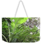 Sunlit Banana With Bamboo Weekender Tote Bag