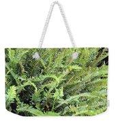 Sunlit Ferns Weekender Tote Bag