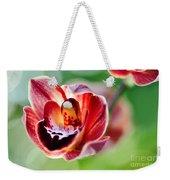 Sunlit Miniature Orchid Weekender Tote Bag by Kaye Menner
