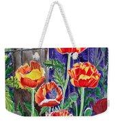 Sunlit Poppies Weekender Tote Bag