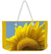 Sunlit Sunflower Weekender Tote Bag