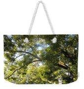 Sunlit Tree Tops Weekender Tote Bag