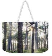 Sunlit Trees Weekender Tote Bag