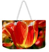 Sunlit Tulips Weekender Tote Bag by Rona Black