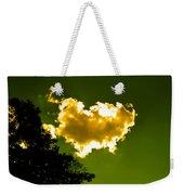 Sunlit Yellow Cloud Weekender Tote Bag