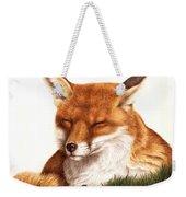 Sunnin' Red Fox Weekender Tote Bag