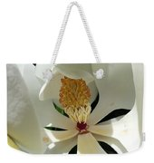 Sunny And Shy Magnolia Weekender Tote Bag