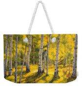 Sunny Birch Weekender Tote Bag